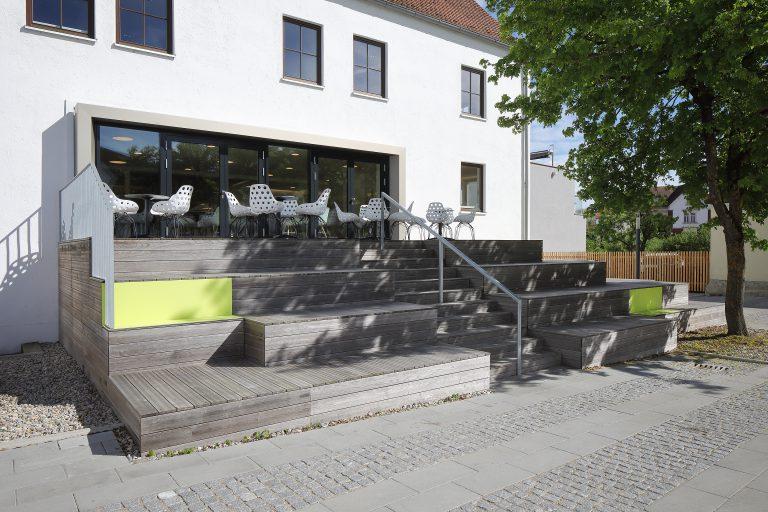 Projekt: Sanierung Kolping-Bildungszentrum Architekt: UTA Architekten Ort: D-Donauwörth Datum: 2019/04
