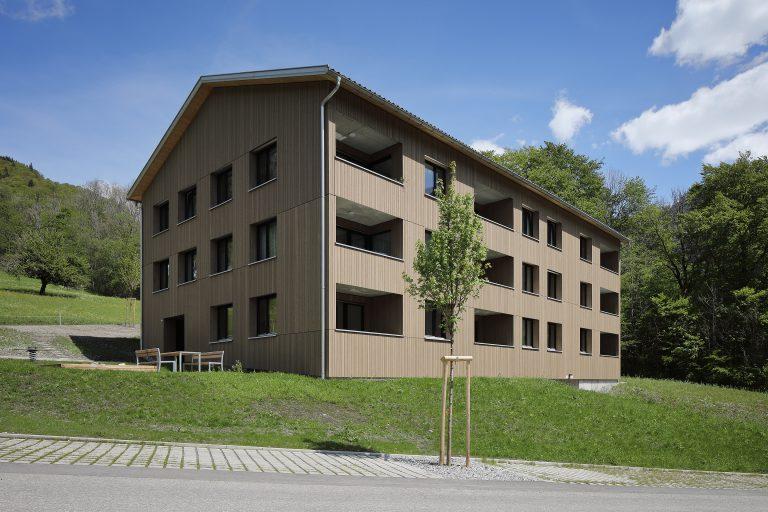 Projekt: Wohnanlage V157 Architekt: FISCHER SCHMIEDER ARCHITEKTEN Ort: A-Dalaas Datum: 2019/05