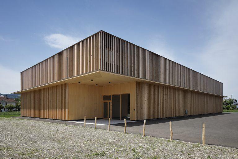 Projekt: Werkhalle-Büro-Showroom Gobbi Architekt: Architektur DI Ralph Broger GmbH Ort: A-Höchst Datum: 2019/06