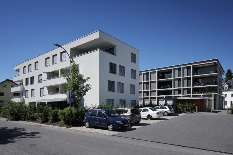 Projekt: Wohnanlage am Dorfbach GU:  Am Dorfbach Projektentwicklungs GmbH Ort: A-Hard Datum: 2019/06