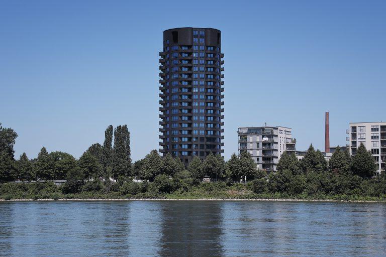 Projekt: Opal Wohnturm Fassade: Ströher GmbH Ort: D-Köln Datum: 2019/06